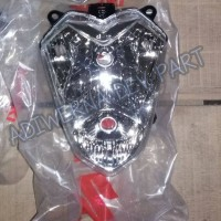 Reflektor Reflector Batok Kepala Kecil Engkel Lama Satria FU Ori SGP