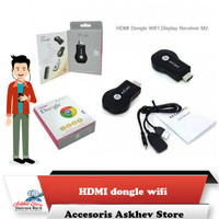 Promo Any Cast M4 Plus Wifi Display Dongle Receiver Hdmi TV DLNA Airpl