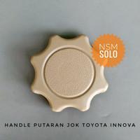 Handle Knob Putaran Reclining Jok Handel Mobil Toyota Innova 2012 Rus