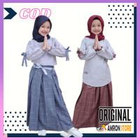 Baju Muslim Anak Perempuan Umur 3 4 5 6 7 8 9 10 11 12 Tahun Model
