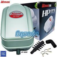 Atman HP-4000 Pompa Udara High Performance Air Pump HP4000 Berkualitas