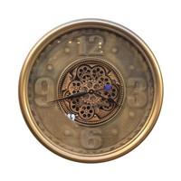 JAM DINDING - WALL CLOCK GEAR 034 DIA 70CM GREY