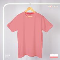 Kaos Polos Pendek - Pink - Nano Comfort
