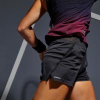 Artengo Celana Tenis Sh Light 900 Wanita Hitam Decathlon - 8547797