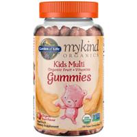 Garden of Life mykind Organics Kids Gummy Vitamins, Fruit, 120 Count