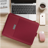 ZenBook Premium Leather Sleeve Pouch Pro 14 Mous Case Inch Asus Cover