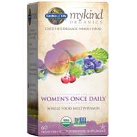 Garden of Life Multivitamin Women, 60 Tblt, with Iron, Biotin