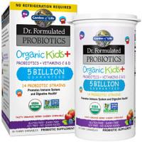 Garden of Life Probiotics Organic Kids+, Immune & Digestive, 30 Count