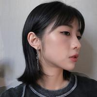 Anting Bulat Ganda Gaya Hip Hop Korea Untuk Anak Laki-Laki / Perempuan