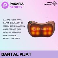 SPEEDS BANTAL PIJAT/Headrest Massage Alat Pijet Leher/Kepala