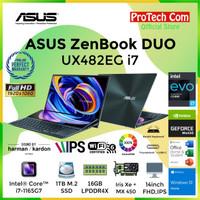 ASUS ZENBOOK DUO UX482EG-KA711IPS i7-1165G7 16GB 1TB MX450 2GB 14 OHS