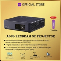^ ASUS ZenBeam S2 Portable LED Projector