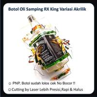 Botol Oli Samping RX King Variasi Akrilik