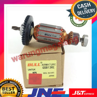 Armature Bull Angket For Mesin Bor Drill Bosch Gsb13re Gsb 13 Re