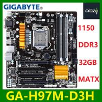 For GIGABYTE GA-H97M-D3H Motherboard H97M-D3H Socket LGA1150 DDR3 SP12