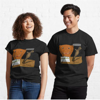 Kaos Homeschooling Oliver The Otter The Cocoon 897 Unisex T-Shirt