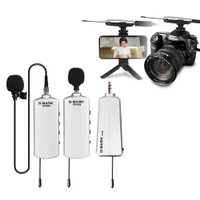G-MARK GV002 Camera Microphone Wireless Lavalier Mic For Asmr DSLR b2
