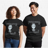 Kaos Smiling Android Artificial Intelligence 508 Unisex T-Shirt