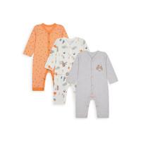 Mothercare footless sleepsuits 3 pack - Set Baju Tidur Bayi (Multi)