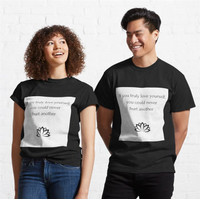 Kaos Buddhist Quote If you truly love yourself you cou 675 T-Shirt