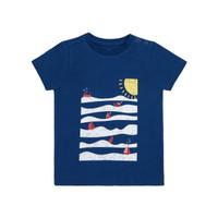 Mothercare sea scene t-shirt - Kaos Bayi Laki-laki (Navy)