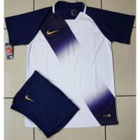 produk terlaris Jersey setelan futsal galaxy navy baju bola dewasa pak