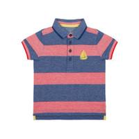 Mothercare striped embroidered yacht polo shirt-Atasan Bayi Laki-laki