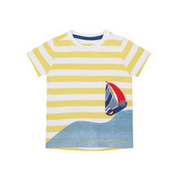 Mothercare striped yacht t-shirt - Kaos Bayi Laki-laki (Kuning)