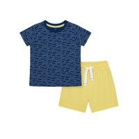 Mothercare nautical t-shirt&shorts set-Setelan Bayi Laki-laki (Multi)