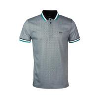 Hugo Boss Paddy 2 Micro Patterned Polo Shirt Black