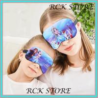 [RC] Masker Penutup Mata Tidur Motif Frozen 2 Untuk Travel Sehari-hari