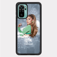 Casing Redmi Note 10 Ariana Grande Positions Poster Paper P2691