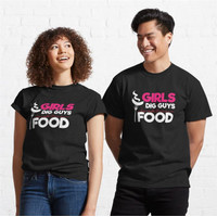 Kaos Funny Grilling Girls Dig Guys Who Cook Their Own F 946 T-Shirt
