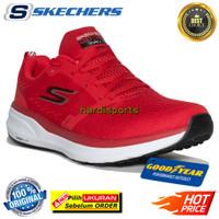 Sepatu Running Pria Skechers Pure 2 Push 220204-RDBK - Red ORIGINAL
