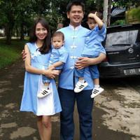 Cheongsam Baju Dress Set Cheongsam Family Keluarga Imlek Seragam Cheon