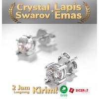 Tiaria Stud Earring AKE006 ksesoris Lapis Emas