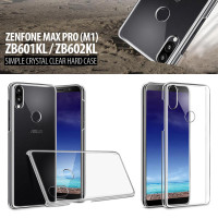 Asus Zenfone Max Pro M1 ZB601KL ZB602KL Simple Crystal Clear Hard Case