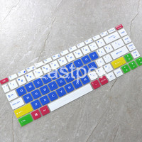 Eastpek Laptop Silicone keyboard cover skin for MSI GS65 GF63 P65