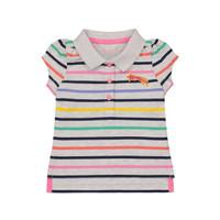 Mothercare striped polo shirt - Kaos Bayi Perempuan (Multicolor)