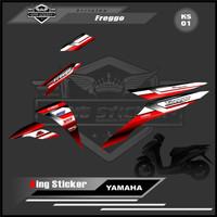 Sticker Striping List Variasi Yamaha Freego - Striping Motor Freego.