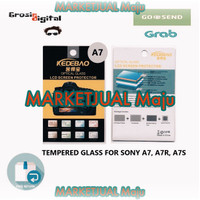 t4sm4 Tempered Glass Screen Protector For Sony A7 A7S A7R - Anti Gores