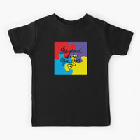 Kaos anak Be Proud of Who You Are Ausome Autism Pu 37920