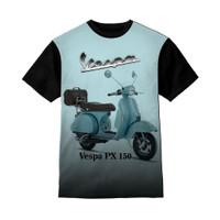 Kaos Anak Vespa PX 150 - Baju Kaos Anak Unisex
