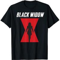 BAJU DISTRO PREMIUM Black Widow logo