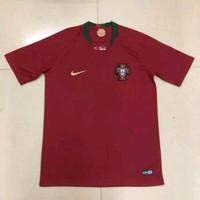 Jersey Kaos Baju Bola Piala Dunia 2018 Timnas Portugal Home Away