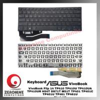 New Keyboard Asus VivoBook Flip 14 TP410 TP410U TP410UA TP410UR H Ori