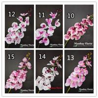 Bunga Angrek Bulan Artificial Bahan Lateks Panjang 110cm libgta 2455jt