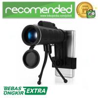 Lensa Tele Zoom HD 40X60 untuk Smartphone - WGWYJ01 / Hitam