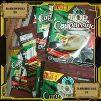 Kopi Top Cappuccino 1 renceng 15s
