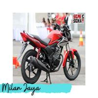Striping Stiker Motor Honda Verza 150 2013 Merah